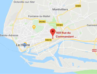 Voitures incendiées au Havre : la façade d'un immeuble dégradée par les flammes sur trois étages