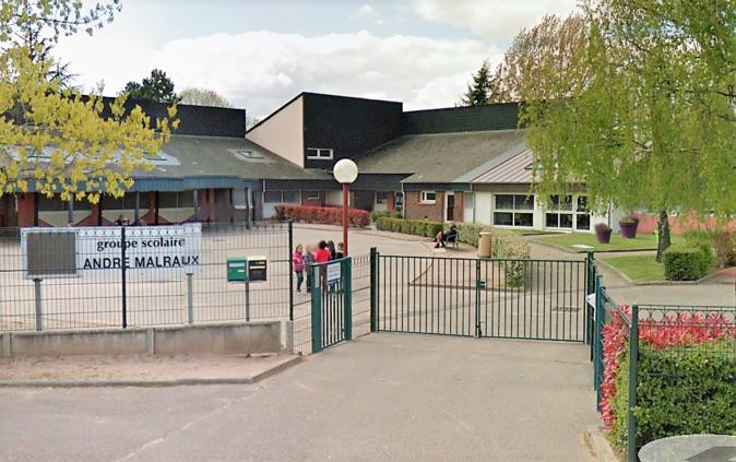 Les écoliers ont pu être accueillis normalement ce lundi matin après remise en état des lieux durant le week-end - Illustration © Google Maps