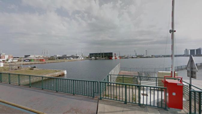 L'homme alcoolisé était tombé dans le bassin Vauban - Illustration @Google Maps