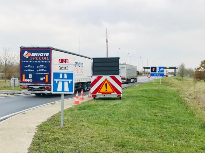 « Outre les problèmes de sécurité, ce trafic quotidien use énormément nos routes et coûte très cher au Département », estime Pascal Lehongre