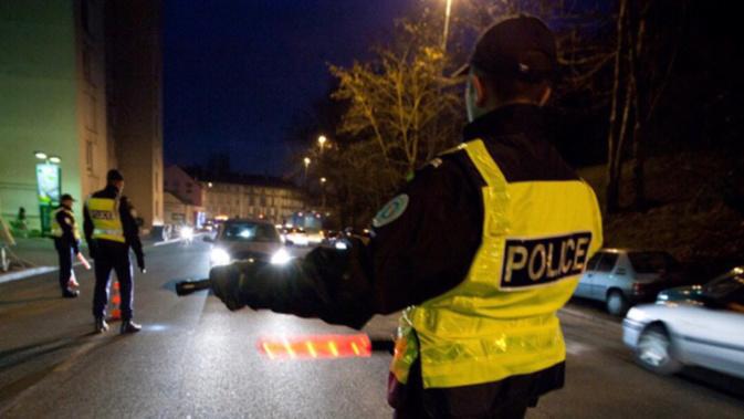 L'automobiliste a été intercepté parce qu'il roulait à vive allure en agglomération - illustration