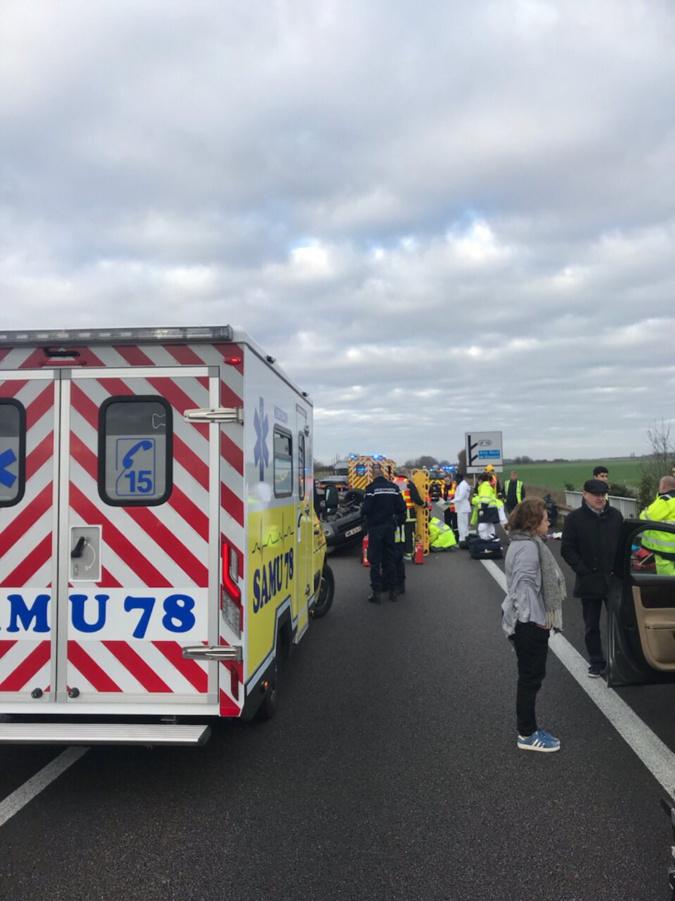 Un blessé grave dans une perte de contrôle sur l'autoroute A13 entre Chaufour et Vernon