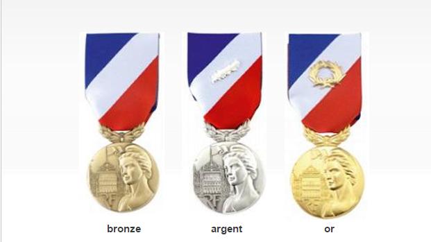La médaille de la sécurité intérieure est destinée à récompenser un «engagement exceptionnel»