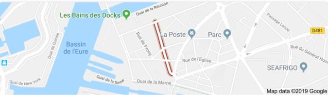 Incendie au Havre ce matin : soixante personnes évacuées d'un immeuble de cinq étages