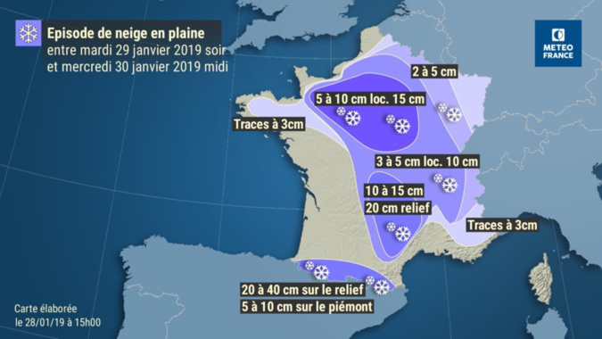 Document © Météo France/Twitter
