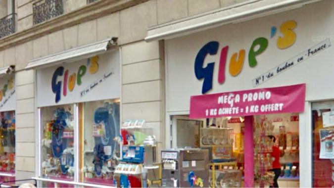 'un des voleurs est entré dans le magasin par effraction, les autres faisaient le guet - illustration @ Google Maps
