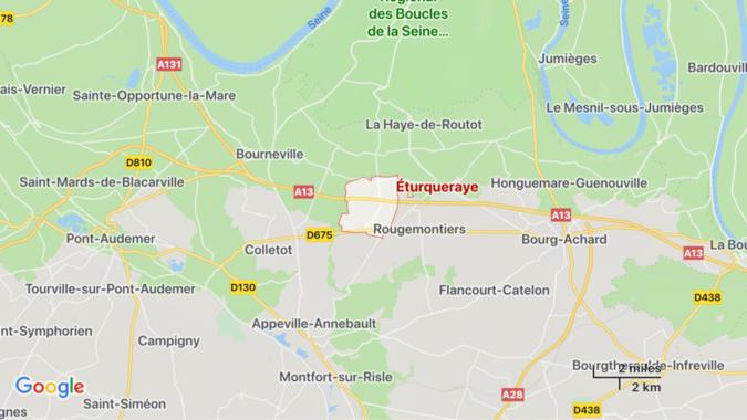 Eure : une femme blessée évacuée de sa maison par une équipe spécialisée des pompiers