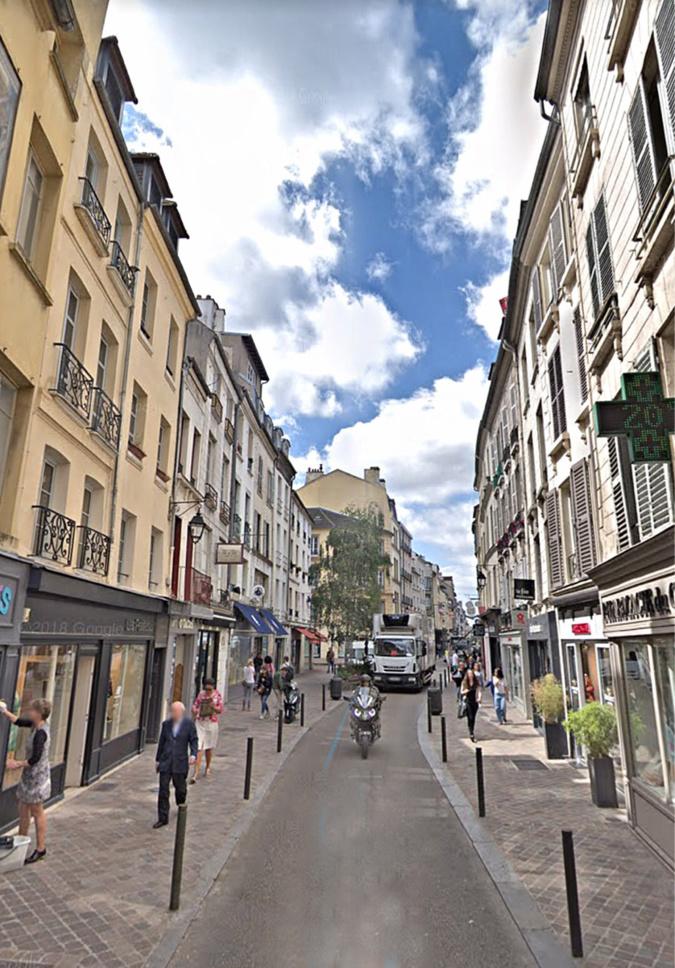 La rue au Pain est une des artères du vieux Saint-Germain