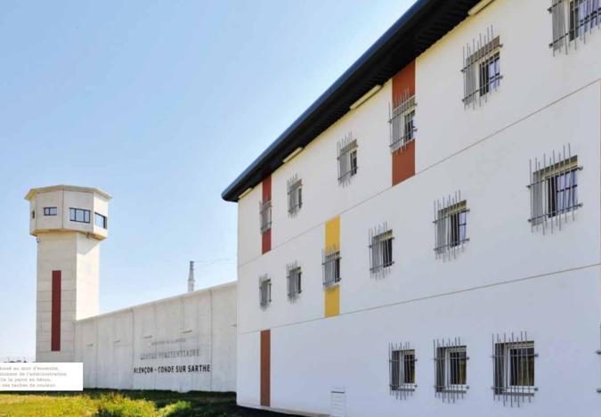 Le centre pénitentiaire d'Alençon/Condé-sur-Sarthe a une capacité de  249 places - document © Ministère de la Justice
