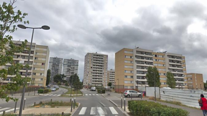 Le quartier des Musiciens aux Mureaux - illustration @ Google Maps