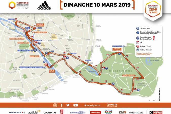semi marathon de paris restriction de circulation dans la capitale ce dimanche 10 mars. Black Bedroom Furniture Sets. Home Design Ideas
