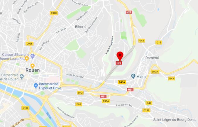 Rouen : le tunnel de la Grand'Mare fermé la nuit entre le 13 et 15 mars