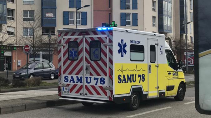 La femme grièvement blessée a été prise en charge par le SAMU et transportée à l'hôpital Beaujon - Illustration @ infonormandie