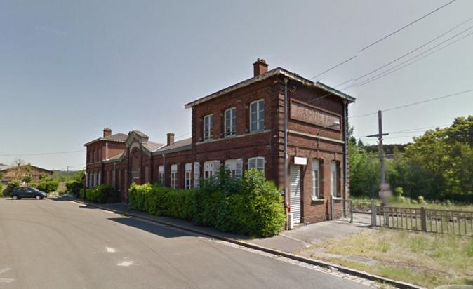 Un homme grièvement blessé, percuté par un train près de l'ancienne gare de Darnétal - Illustration © Google Maps