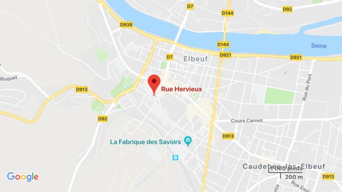 Elbeuf : une jeune femme battue se réfugie sur le toit de l'immeuble