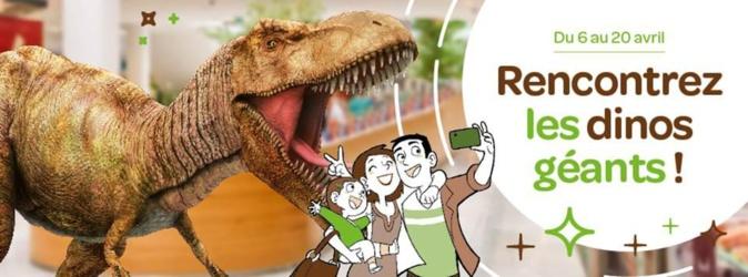 Retour au Jurassique : exposition géante de dinosaures au centre commercial Grand Evreux