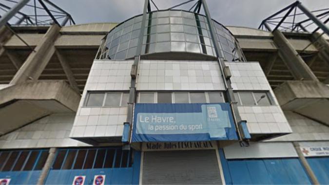 Le stade Deschaseaux au Havre