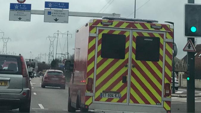 Les deux victimes ont été transportées au CHU de Rouen - Illustration @ infonormandie