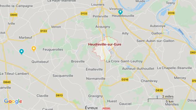 Eure : circulation très perturbée sur l'A154 après un accident entre un camion et deux voitures