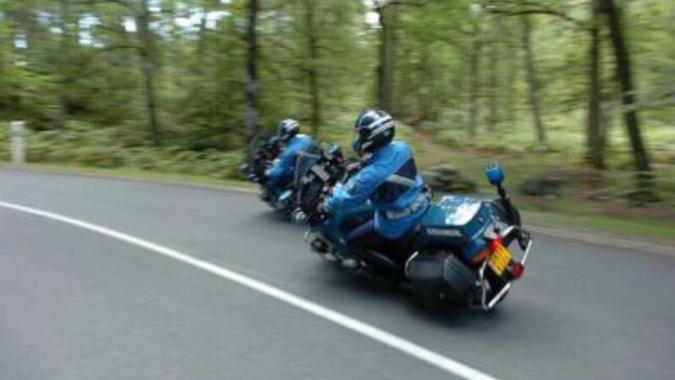 L'automobiliste a refusé d'obtempérer à un contrôle des motards de la gendarmerie - Illustration