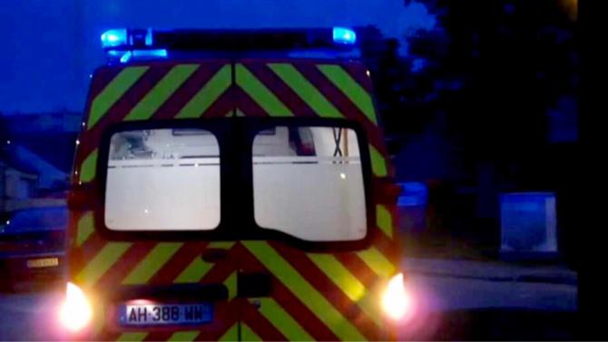 La victime a été transportée médicalisée au CHU de Rouen. Elle était dans un état critique - Illustration