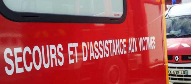 Les deux blessés ont été pris en charge par les sapeurs-pompiers - Illustration