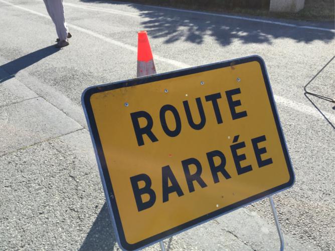 La RD 810 a été fermée cet après-midi à Sainte-Opportune la Mare - illustration