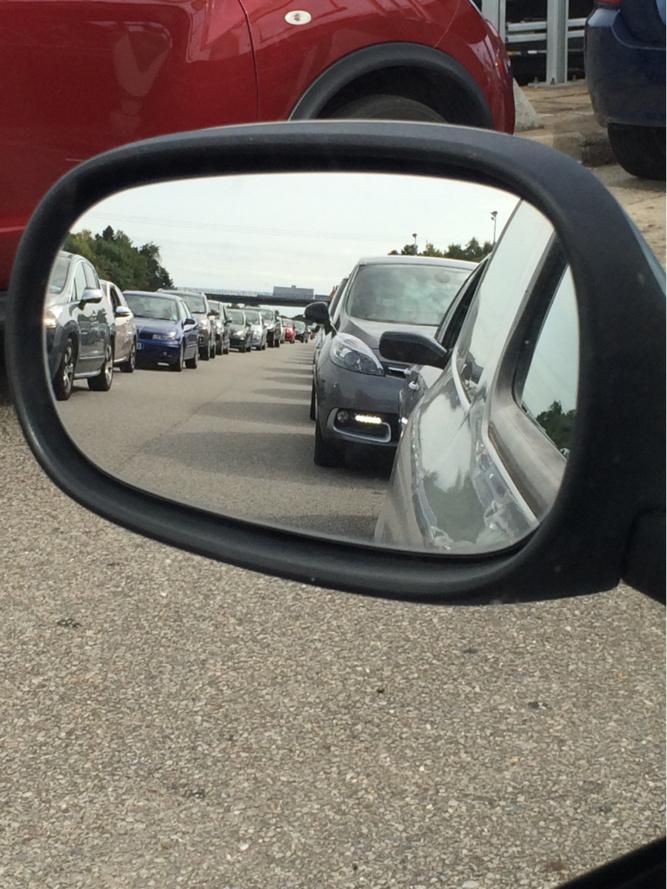 L'autoroute A13 en direction de la Normandie sera bien encombrée dès vendredi soir - illustration @ infonormandie