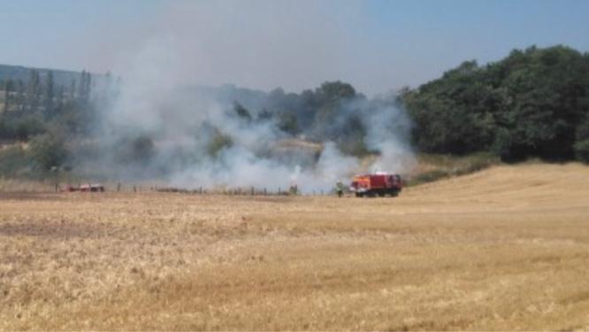 Des incendies se sont déclarés dans huit communes du département - illustration @ Infonormandie