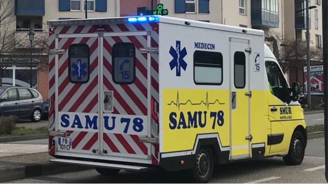 Le couple et son nourrisson ont été examinés sur place avant d'être transportés à l'hôpital de Mantes-la-Jolie - Illustration @ Infonormandie