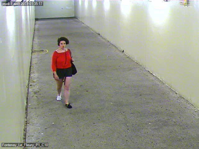 Morgane était vêtue de cette façon au moment de sa disparition mercredi 8 août à Bois d'Arcy - Photo @ DDSP78