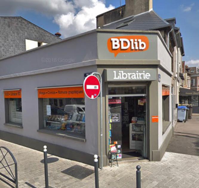 Le commerçant aurait déjà été victime de vols d'albums - Illustration @ Google Maps