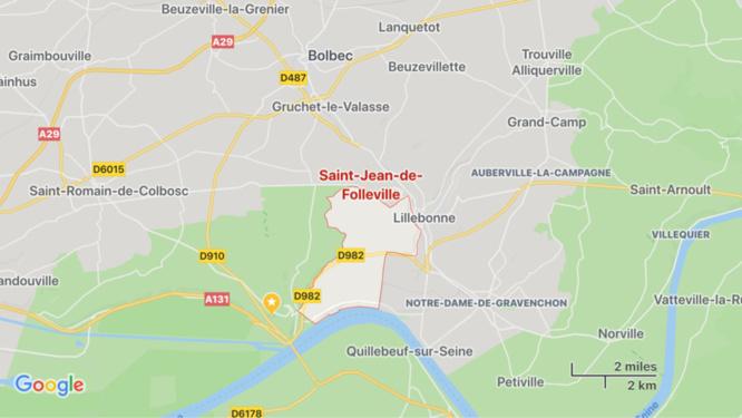 Seine-Maritime : les occupants d'une maison hospitalisés après un feu de garage
