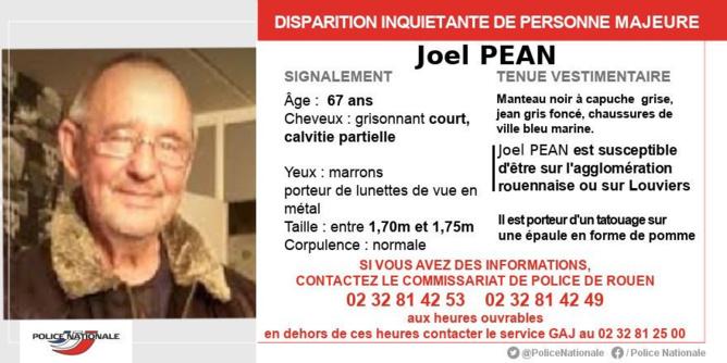 Disparition inquiétante en Seine-Maritime : la police de Rouen lance un appel à témoin