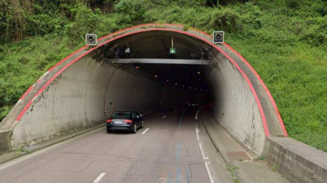 L'accident s'est produit dans le tunnel en direction de Rouen - Illustration @ Google Maps