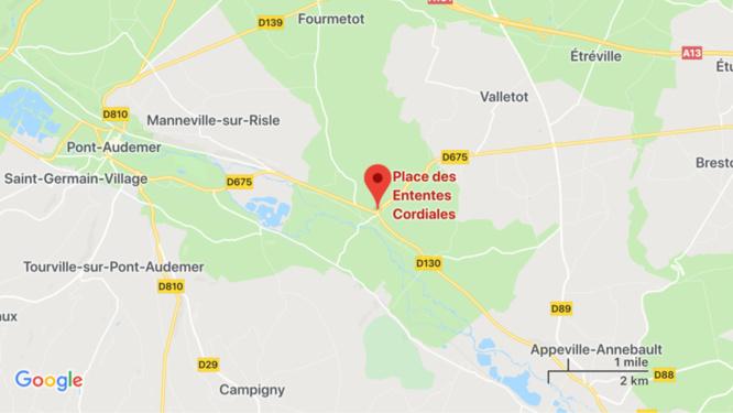 Eure : une maison inoccupée embrasée à Corneville-sur-Risle