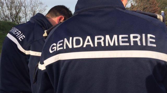Un gendarme de Saint-Romain de Colbosc a reconnu sur les images vidéo l'agent de sécurité qui n'était pas autorisé à se trouver sur les lieux le jour du vol - Illustration
