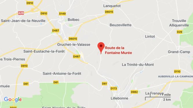 Seine-Maritime : trois blessés, dont un grave, dans un accident de la route près de Bolbec