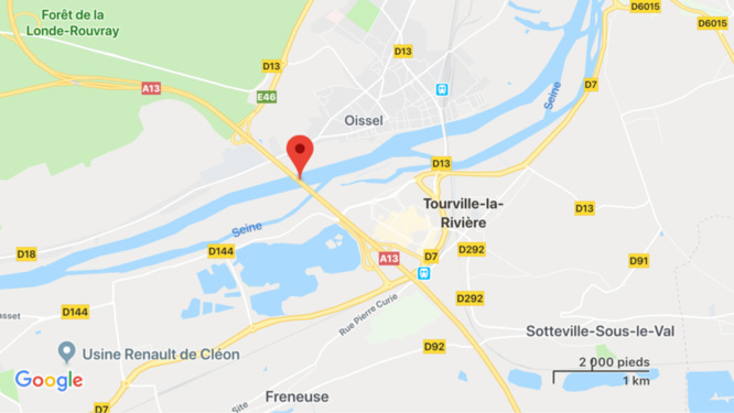 Seine-Maritime : Dragon76 mobilisé pour rechercher une personne dans la Seine à Tourville-la-Rivière