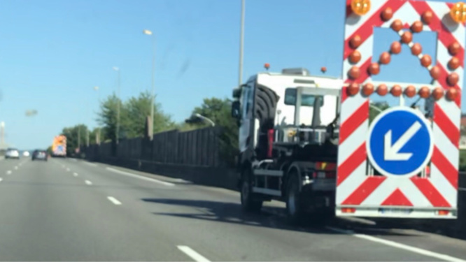 Le trafic sur l'A139 en direction de rouen a été perturbé - Illustration @ infoNormandie