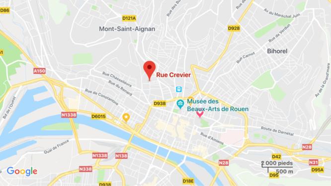 Rouen : deux SDF interpellés en train de cambrioler un appartement