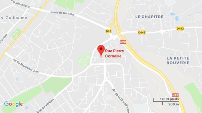 Un inconnu découvert inconscient au pied d'un immeuble près de Rouen