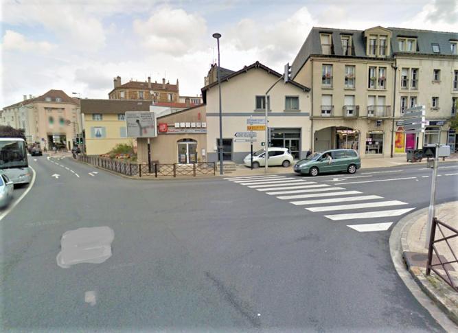 Le drame est survenu à cette intersection, avenue du Cep et rue Saint-Louis - Illustration