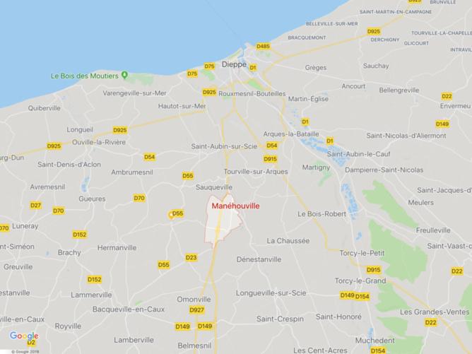 Feu de compteur électrique : 43 foyers privés d'électricité a Manéhouville, près de Dieppe