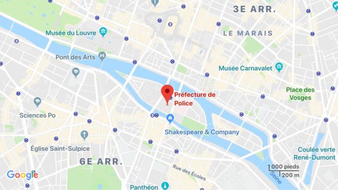 Quatre policiers poignardés à mort à la préfecture de police, l'assaillant a été abattu
