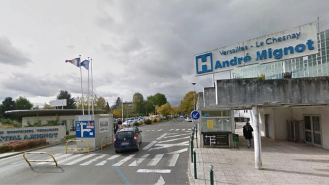 La victime a été transférée à l'hôpital de Versailles, en urgence absolue - illustration