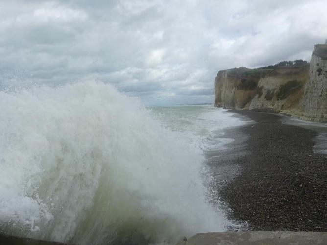 Prudence sur le littoral, recommande la préfecture maritime - photo@ Isabelle Compagnon / Facebook
