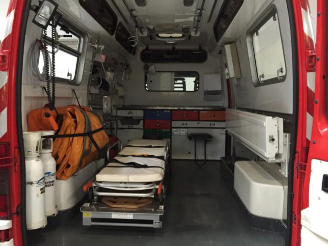 La victime a été transportée, médécalisée, au CHU de Rouen - illustration © Pixabay
