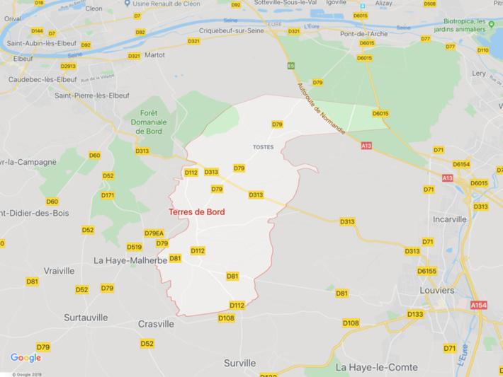 Sept blessés, dont deux graves, dans une collision entre deux voitures dans l'Eure