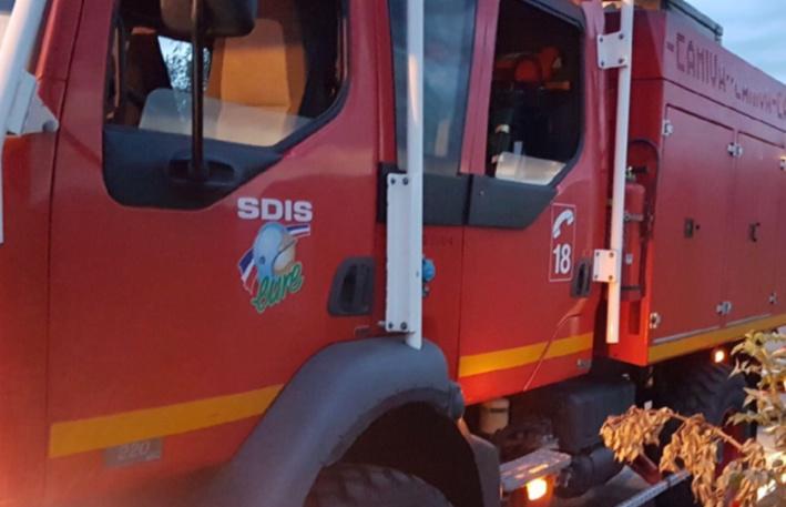 Une quarantaine de sapeurs-pompiers sont intervenus pour éteindre le sinistre et l'empêcher de ses propager - Illustration © infonormandie